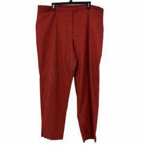 Venezia Womens High Rise Stretch Dress Pants Sz 24